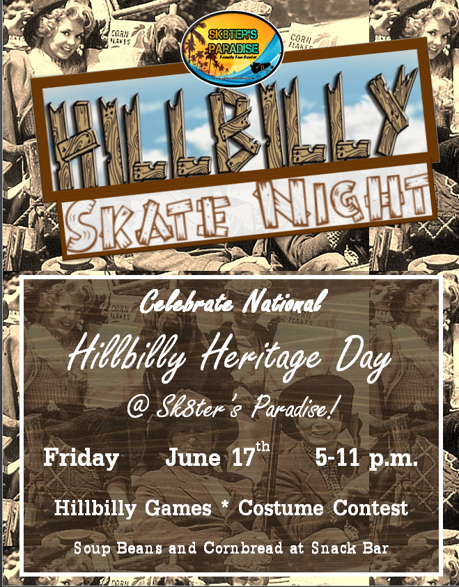 Hillbilly Heritage Night Flyer pic