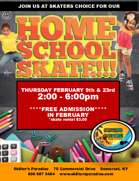 HomeSchool Skate February