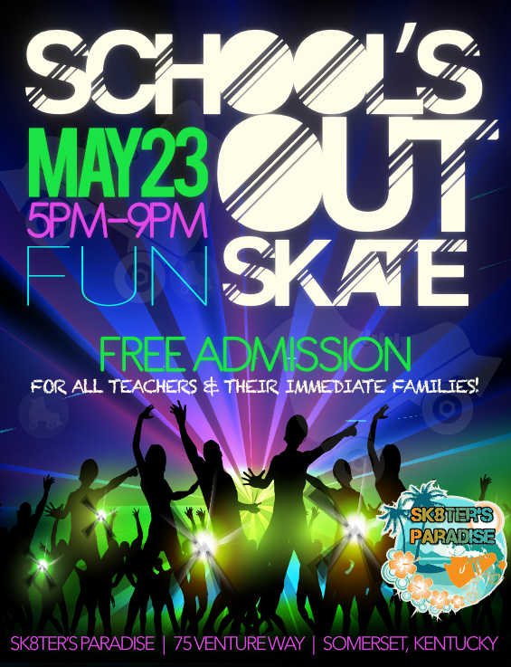 Schools Out Skate