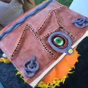 "Spell Book from ""Hocus Pocus""  Created by Jessica Ping"