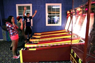 Skeeball Game at Sk8ter's Paradise