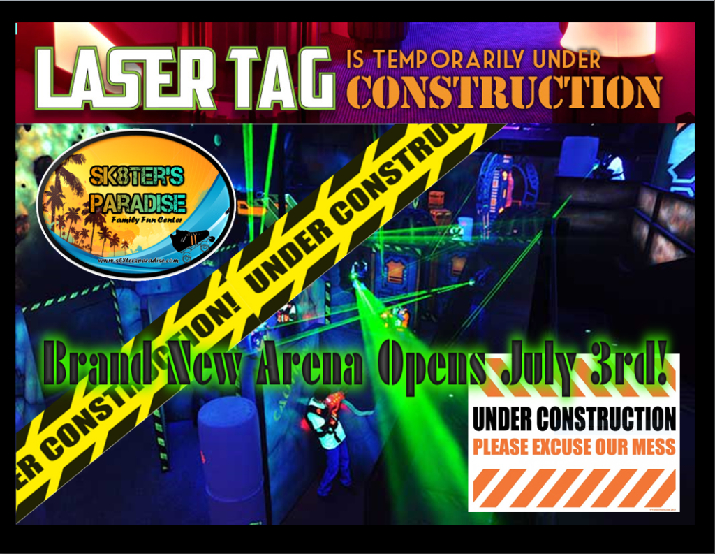 Laser Tag Under Construction PIC